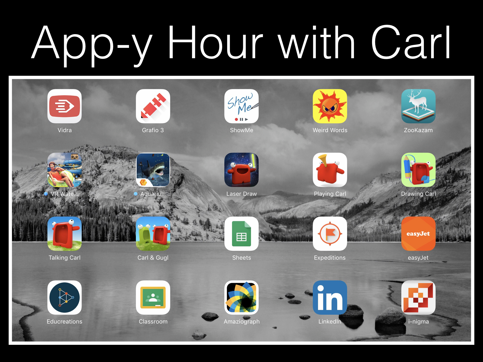 App-y Hour with Carl