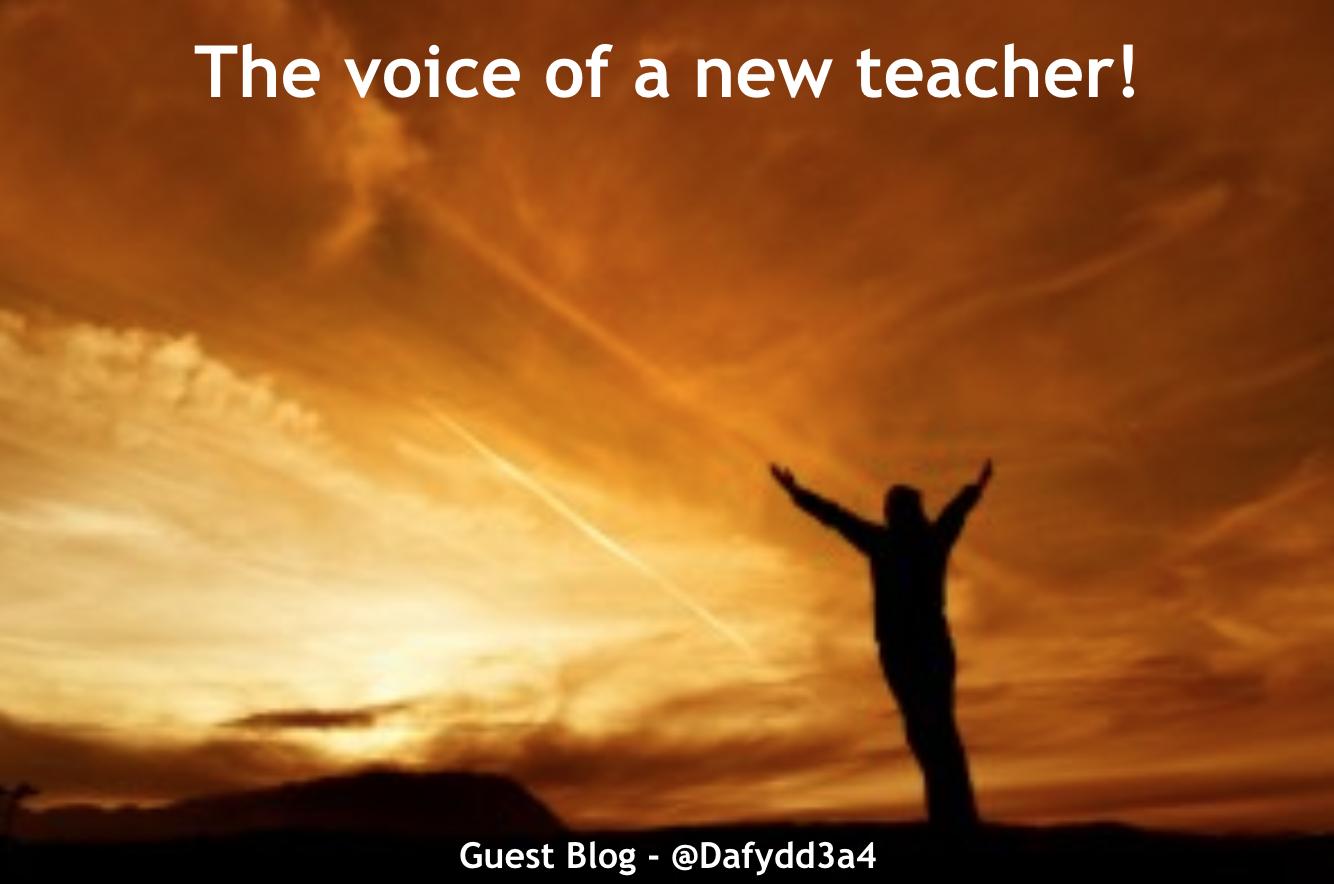 The voice of a new teacher – guest blog.